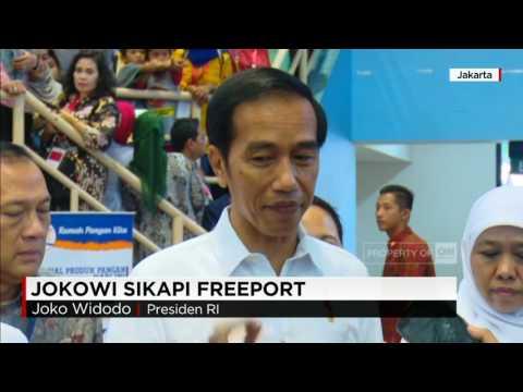 Presiden Jokowi & Wapres JK Sikapi Freeport