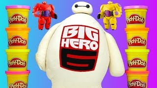 HUGE Baymax Toy Egg Play Doh Surprise Lego Marvel Big Hero 6 TMNT Shopkins MLP LPS Eggs