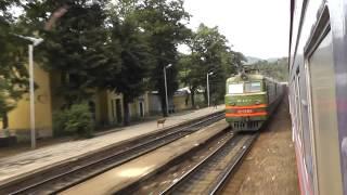 "Train ""Armenia"" Batumi - Yerevan"