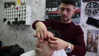 ASMR Turkish Barber Face Head and Body Massage 95