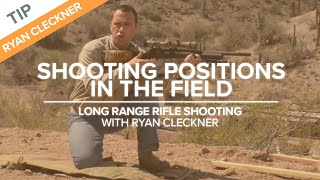 Shooting Positions in the Field - Long Range Shooting Technique