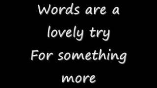More Than A Love Song - Augustana Lyrics