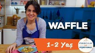 Bebekler İçin Waffle - Ballı ve Muzlu (1-2 Yaş) | Profilo ile Pişiriyoruz | İki Anne Bir Mutfak