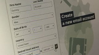 How to Create ANONYMOUS & FREE Email Account Without Phone Verification ID Or Older Email Address