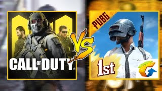 COD VS PUBG Mobile | Which Game is better? Let's Find Out! Is NEW CALL OF DUTY is better then PUBG