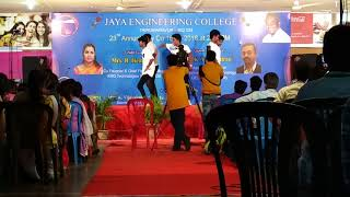 Mechanical boys dance...@ JAYA engineering college.....Semma dance ( Item songs)