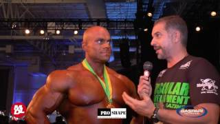 Lucas Osladil - Campeon Arnold Classic Brazil Pro Show 2017