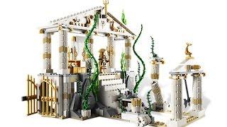 Lego 7985 City of Atlantis Review (레고 7985 아틀란티스 신전 제품 리뷰)