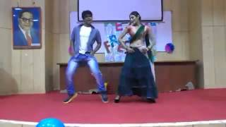 Fresher With Hot Senior Girl,college Girls in Dance,Hyderabad Fresher College Girls Dancing