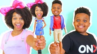 Shiloh and Shasha TURN INTO TOYS!? - Onyx Kids