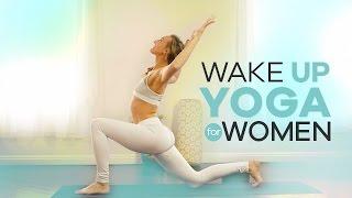 Beginner Morning Yoga for Women | 10-Min | Energizing Wake Up Vinyasa Flow