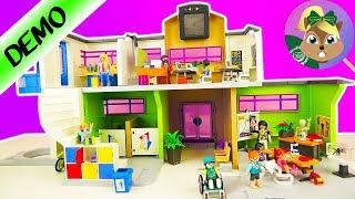 * جديد * تركيب مدرسة بايموبيل 9453! صالة جديدة لهانا؟ مع غرفة مدة الاحياء!