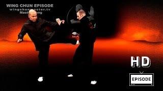 Wing Chun wing chun kung fu Basic kick- episode 3