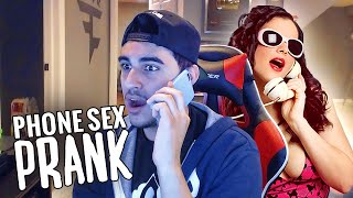 PHONE SEX PRANK!