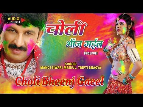 CHOLI BHEENJ GAEEL - Holi Special 2016 [ Audio Songs Jukebox ] - Manoj Tiwari, Tripti Shaqya
