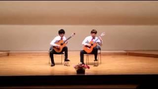 전북대 고전기타반 2014 정기연주회   송치호39 홍태정40 Duo in G
