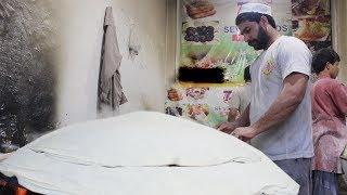 king of Romali Roti  | Rumali Ruti | Samosa Rolls Patti | Samosa rolls Sheet | Pakistani Street Food