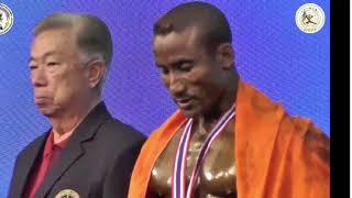 Arambam Bobby Singh Mr.world 7th Times Champion 2018 10th WBPF