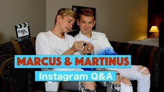 Marcus & Martinus - Instagram Q&A | Bubble Gum TV
