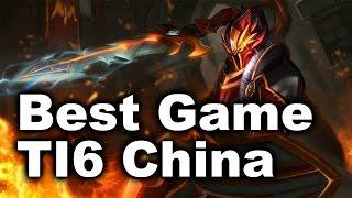 TI6 Best China Game - 89 Min iG vs VG - Dota 2