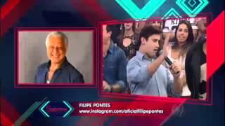 programa da sabrina Felipe Pontes parabeniza Sabrina com imitações de famosos 06 06 2015 mircmirc