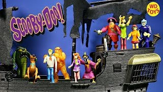 SCOOBY DOO Friends & Foes Action Figure Collection Scooby Doo Toy Video PARODY, Unboxing