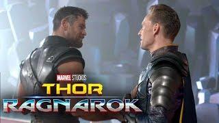'Thor: Ragnarok' Behind-the-Scenes First Look! Chris Hemsworth and Tom Hiddleston Reunite
