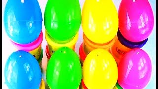 8 Little Pony Huevos Sorpresa MLP Plastic Surprise Eggs as like Unboxing Play-Doh Spider-Man Eggs