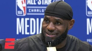 LeBron talks MJ, Kyrie Irving's apology, Zion Williamson and more | NBA All-Star 2019