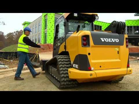 Volvo Wheeled and Tracked C Series Skid Steer Loaders Presentation video