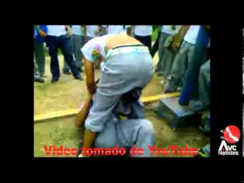 Escándalo por video de pelea en Telesecundaria de Martínez de la Torre Veracruz