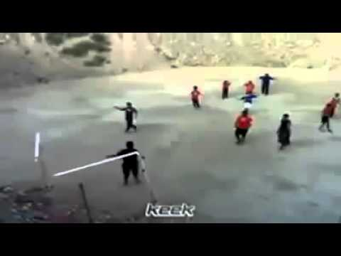 ضربة تكسر العارضة ضربة نار foot ball break  the bar