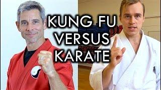 Kung Fu versus Karate Challenge with Jesse Enkamp