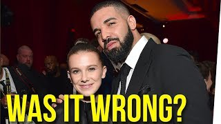 Should Drake Be Texting Millie Bobby Brown?! ft. Boze