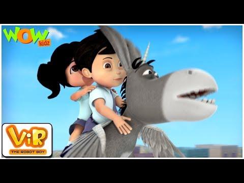 Shaitan Liliputs - Vir: The Robot Boy- Kid's animation cartoon series