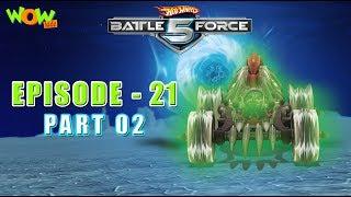 Motu Patlu presents Hot Wheels Battle Force 5 - Swarmed - Episode 21-P2- in Hindi