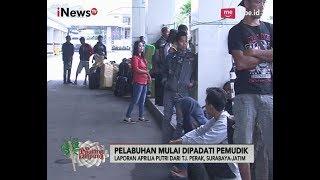 Pelabuhan Tanjung Perak, Surabaya Sudah Mulai Dipadati Pemudik - iNews Pagi 22/06