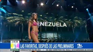 Favoritas al Miss Universo después de la preliminar y algunos detalles sobre el national costume