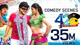 MR 420 Kannada Movie Comedy Scenes 15 | Ganesh, Sadhu Kokila, Raghu