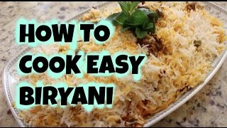 QUICK AND EASY BEEF BIRYANI RECIPE