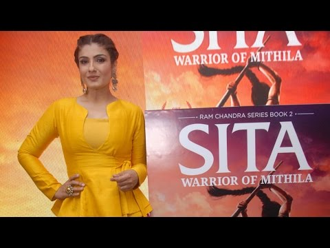 Raveena Tandon Launches Amish Tripathi's Book Sita - Warrior Of Mithila