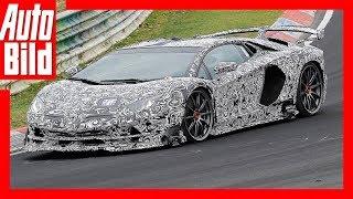 Lamborghini Aventador SV Jota Erlkönig (2018) Details/Erklärung