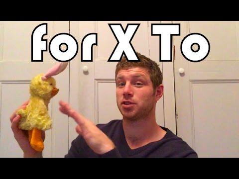 To X For em inglês: Quem