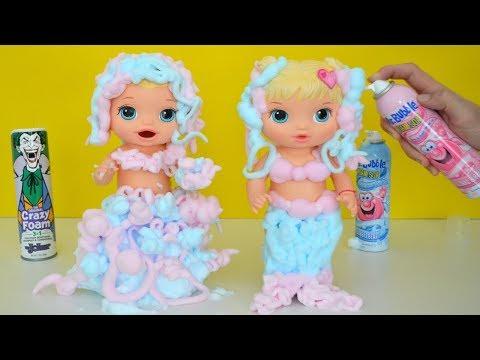 Xxx Mp4 Las Muñecas Baby Alive Jugando Y Haciendo Fabulosos Vestidos Con Espuma TotoyKids 3gp Sex