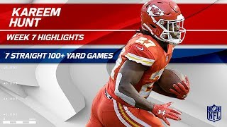Kareem Hunt Does It Again w/ 117 Yards of Offense 💯 | Chiefs vs. Raiders | Wk 7 Player Highlights
