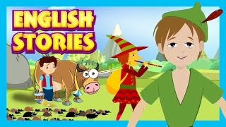 English Stories - Animated Stories For Kids || Peter Pan and More Fun Stories For Children