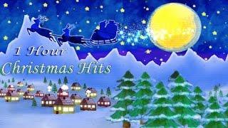 1 HOUR OF CHRISTMAS HITS - Famous Christmas Songs for Kids - Animated Video