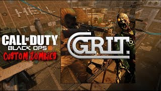 AWESOME NEW MAP 'GRIT' ZOMBIES!!! (BLACK OPS 3 CUSTOM ZOMBIES)