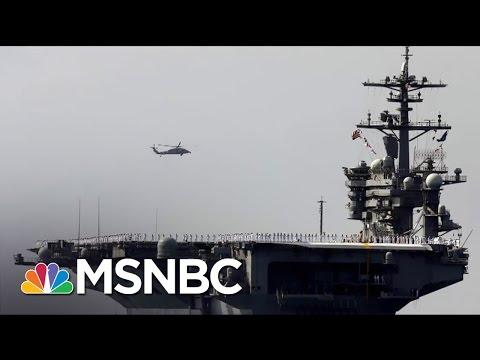 Trump Admin. Tries To Clarify Statements On US Warships To Korean Peninsula Morning Joe MSNBC