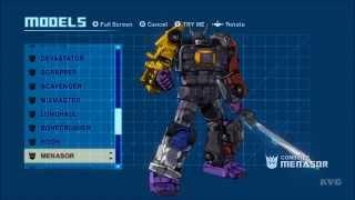 Transformers: Devastation - All Transformations (Autobots | Decepticons) [HD]